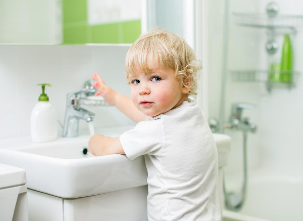 Some pediatricians suggest 120 degrees is the hottest water should be in homes with small children.